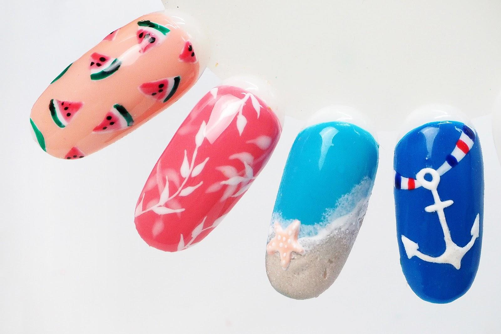 trendy na lato paznokcie