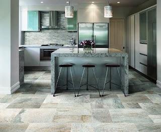 3 material Choosing Kitchen Floor