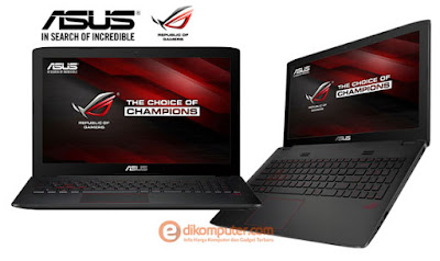 Harga Laptop Gamer ASUS ROG GL552JX DM174H 2016