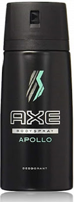 Axe Daily Fragrance body spray mens, Apollo