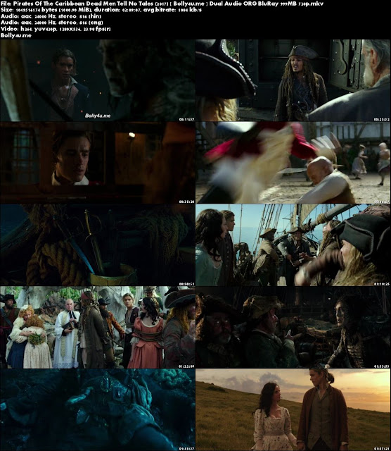Pirates Of The Caribbean Dead Men Tell No Tales 2017  400MB Hindi Dual Audio ORG 480p