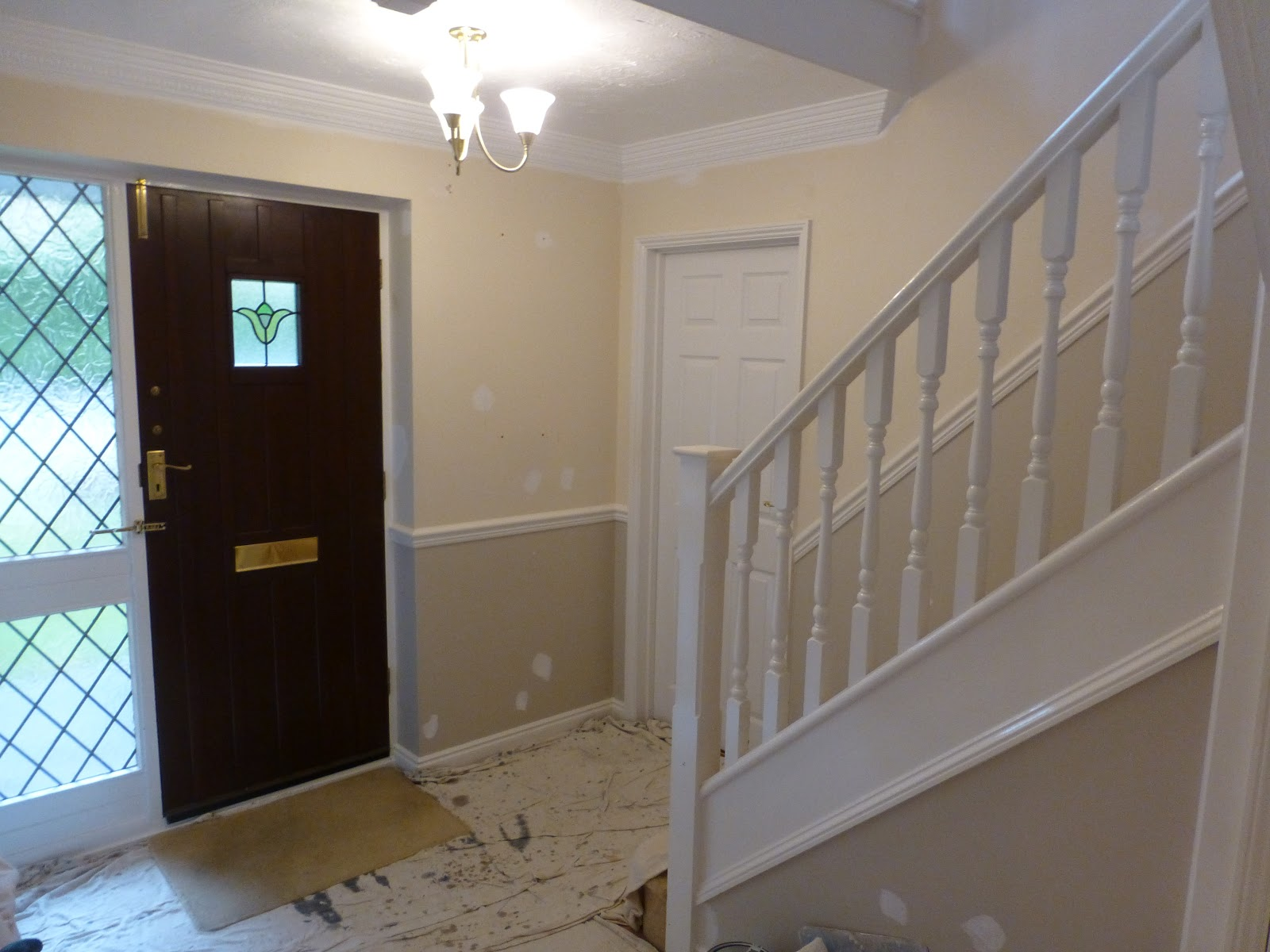 The Following Photos Are From A Large Hall, Landing, Stairs And A Small  Adjoining Cloak Room That I Re Decorated Back In October 2016.