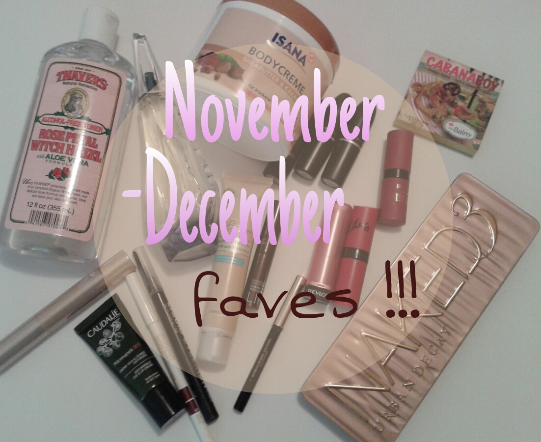 f40f04f7ed November-December faves! ♥
