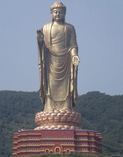 Spring Temple Buddha - China