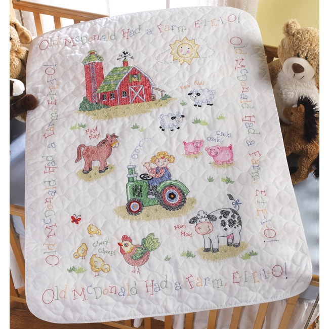 Weekend Kits Blog Cross Stitch Kits For Baby On The Farm