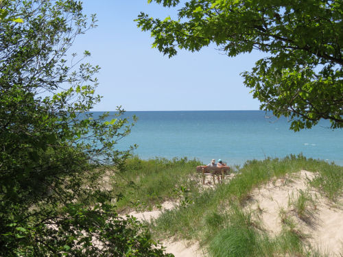 Lake Michigan Recreation Area beach