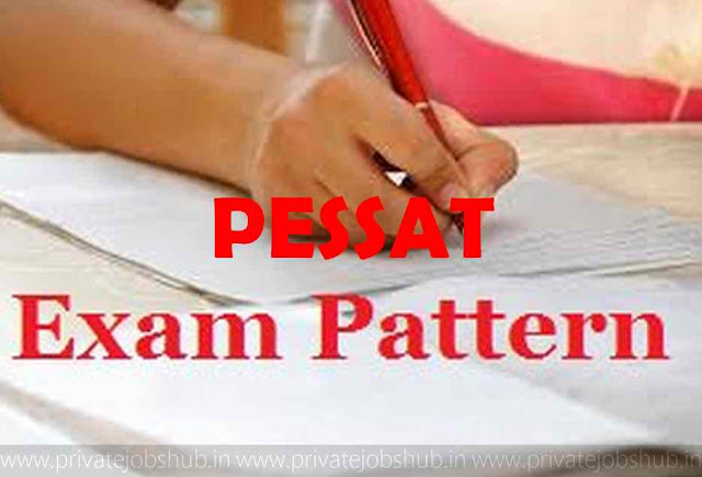 PESSAT Exam Pattern