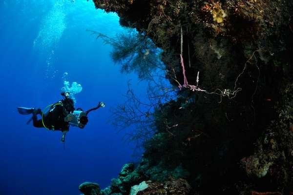 foto bawah laut di pulau banda