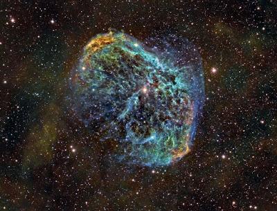 NGC 6888: The Crescent Nebula