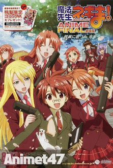 Mahou Sensei Negima! Anime Final - Gekijouban Negima, Negima the Movie 2013 Poster
