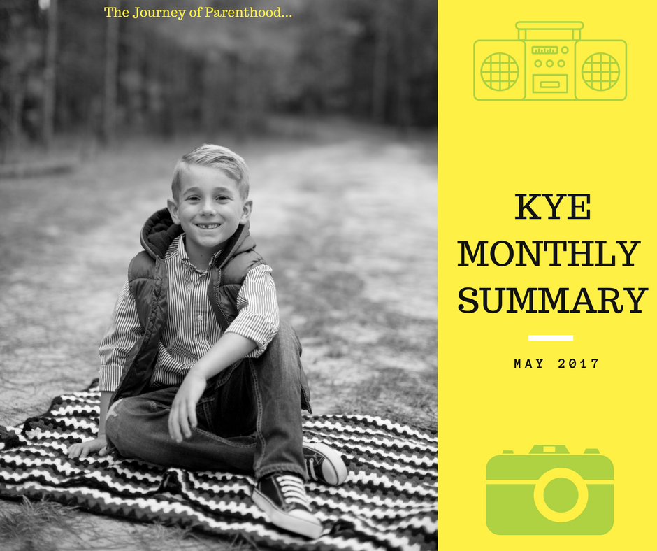 Kye Monthly Summary: May 2017
