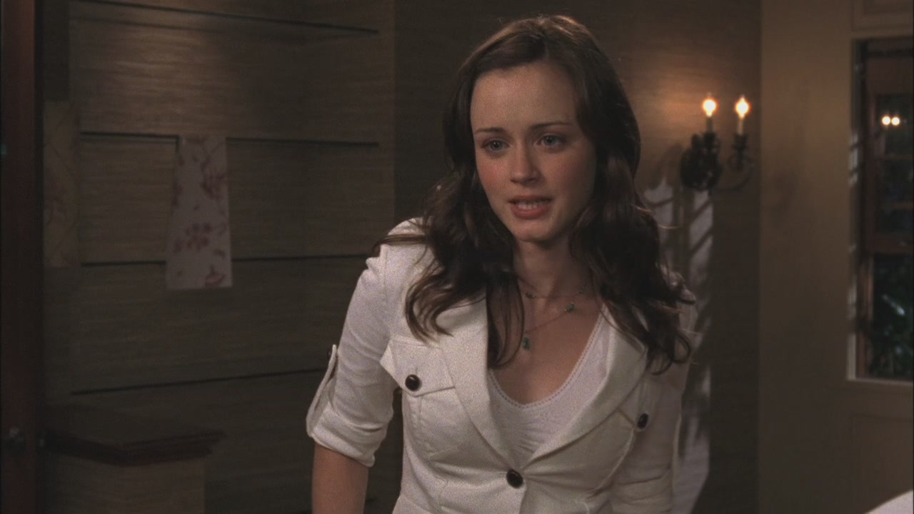 Alexis bledel as rory gilmore in the gilmore girls