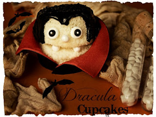 dracula con cupcake