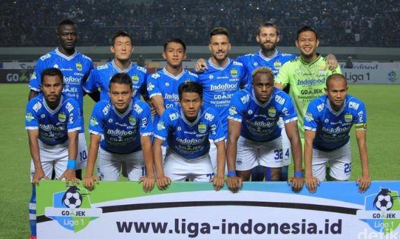 Starting XI Persib Bandung di Liga 1 2018