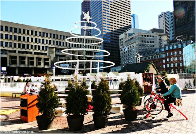 Árbol del Boston Winter Market