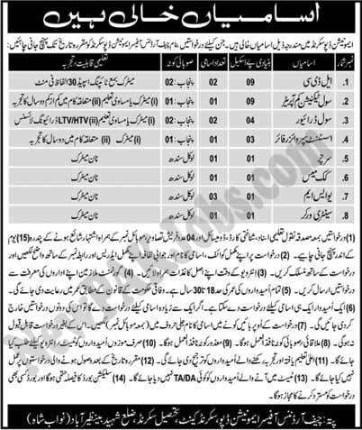 Ammunition Depot Pakistan Army Jobs