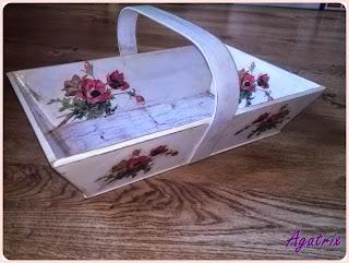 drewniane skrzyneczki pudełka