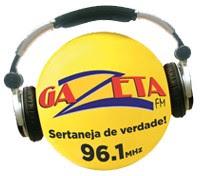 Rádio Gazeta FM 96,1 de Barra do Garças MT - Mato Grosso