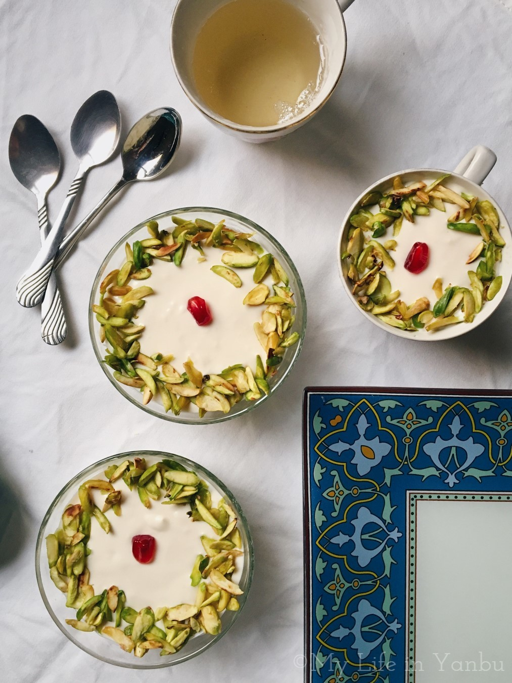 Layali Lubnan | Lebanese Nights | Semolina Pudding