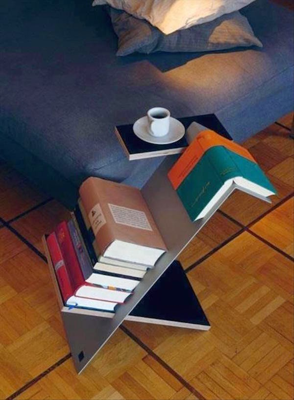 21. Coffee and Book Table