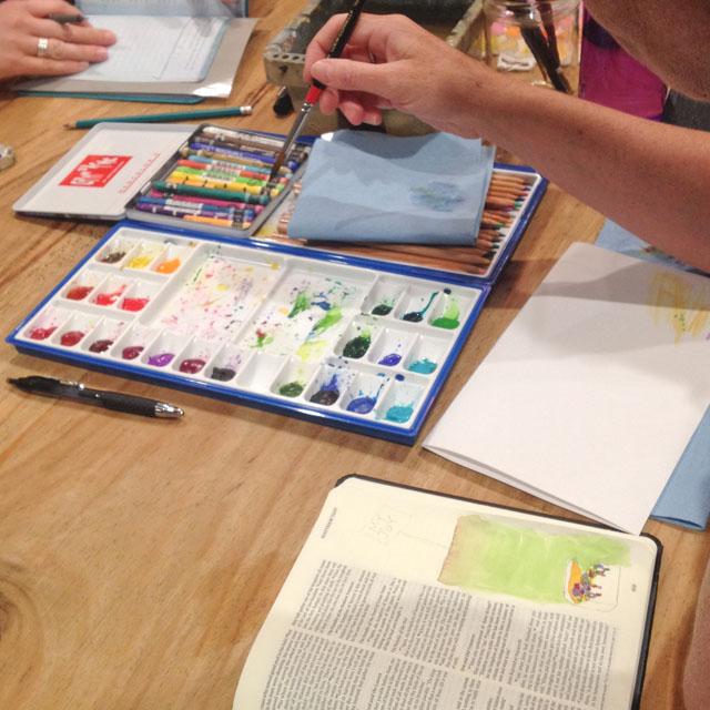 Illustrated faith workshop