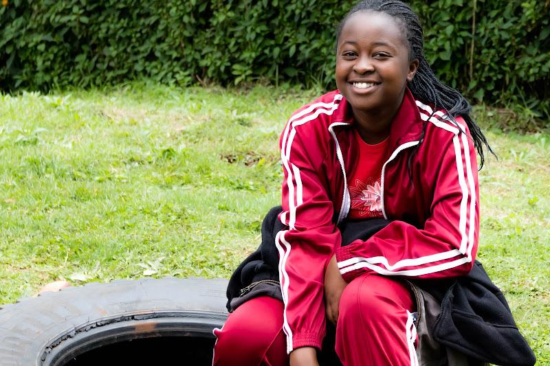 Uhuru Academy Student Volunteering in Kenya with Freedom Global