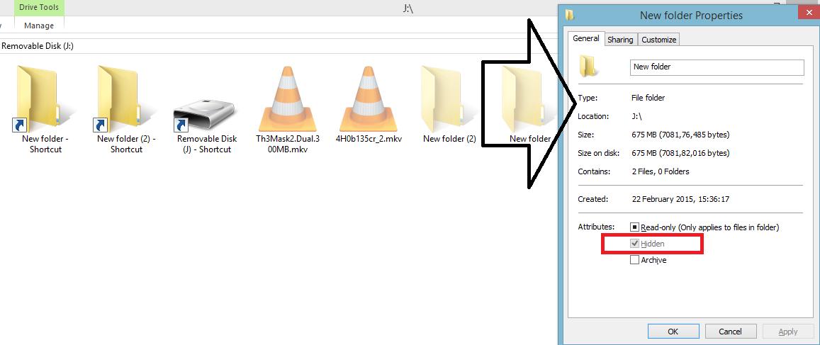 Remove Shortcut Virus from Pc & USB NKWorld4U Using CMD and USBFIX