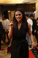 Actress Shraddha Srinath Stills in Black Short Dress at SIIMA Short Film Awards 2017 .COM 0041.JPG