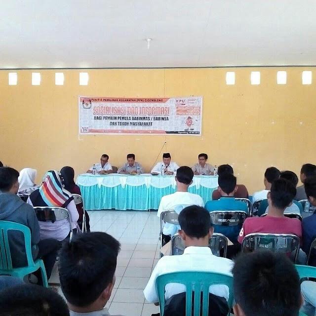 Panitia Pengawas Pemilu Melaksanakan Pengawasan Sosialisasi Pemilihan Bupati dan Wakil Bupati Lebak