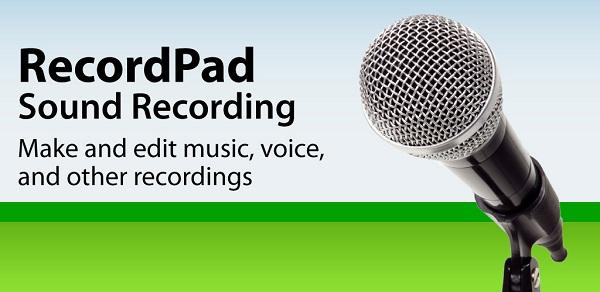 تحميل برنامج تسجيل الصوت RecordPad Sound Recording