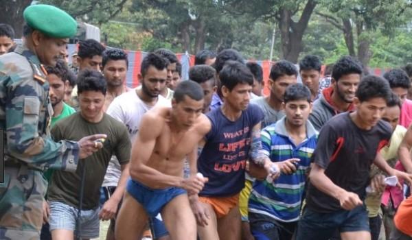 Kunraghat   Army Rally, Indian Army Rally, Open Bharti Rally