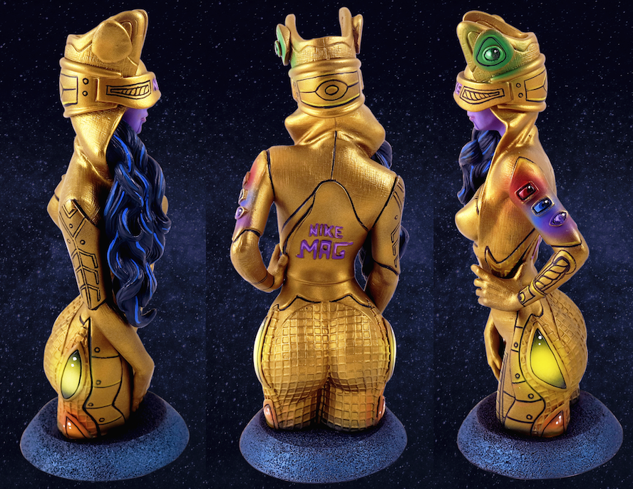 GAUNTLET GIRL Bust from De Korner x MaloWrx (for May 8th