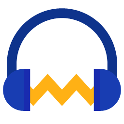 Preview of Audacity, music, headphone, abstract, logo, icon