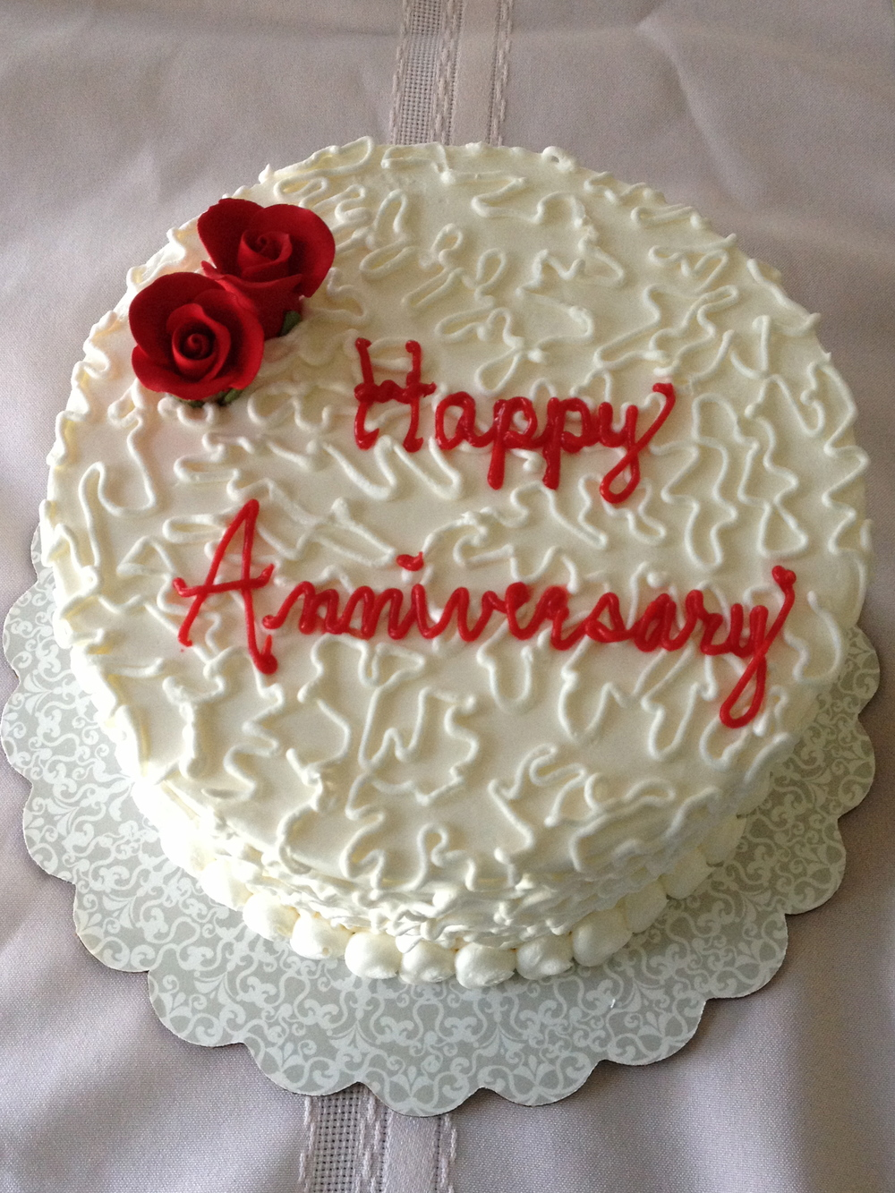 Romantic Happy Anniversary Cake Photos