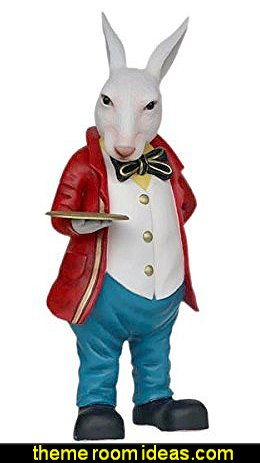 Mad Hatter Rabbit Easter Life Size Statue