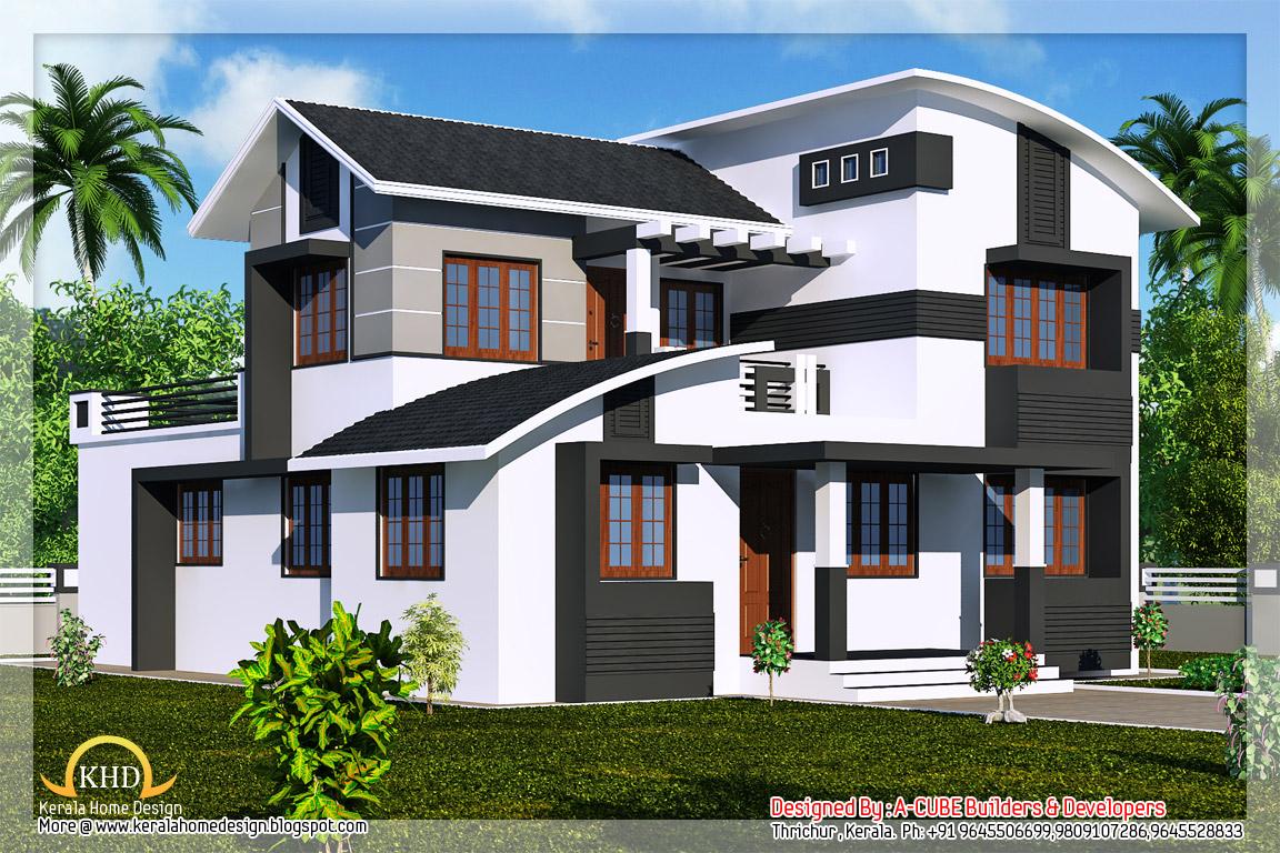 Duplex Villa Elevation