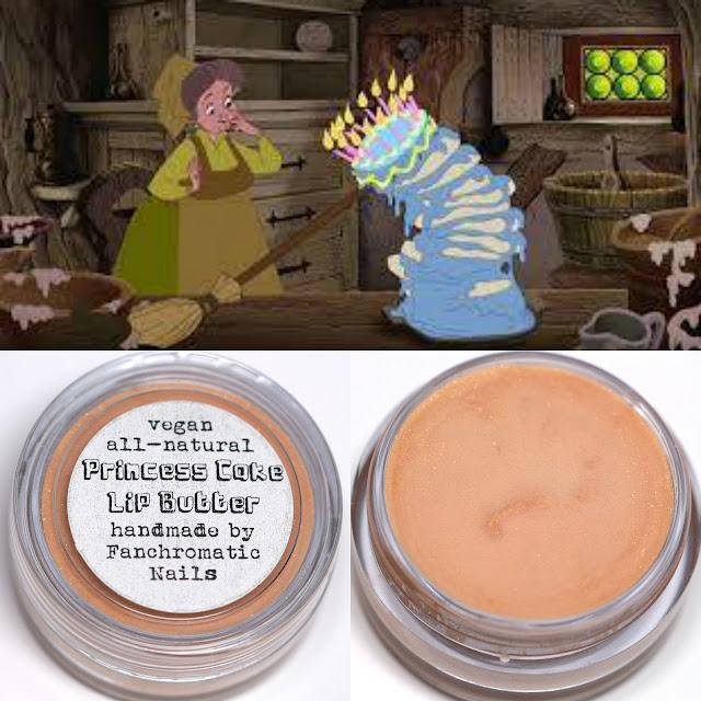 Fanchromatic Nails Princess Cake Lip Balm