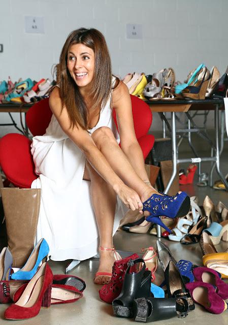 المرأة التي تُنفق 40 ألف يورو على شراء الأحذية!