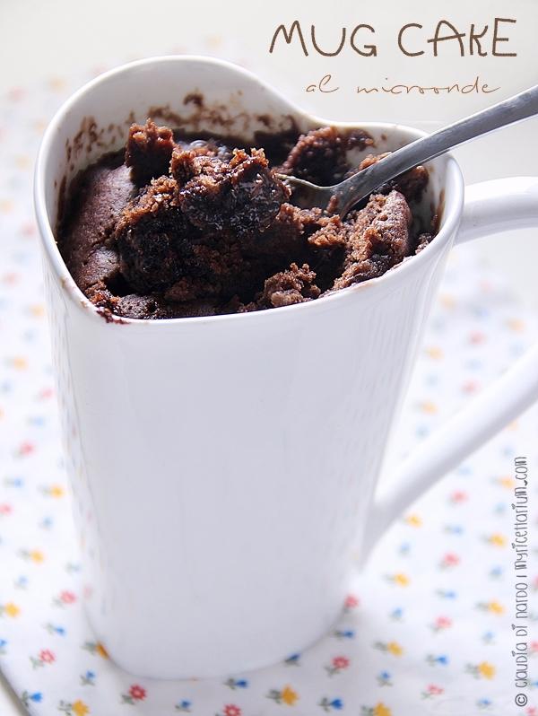 Mug cake al microonde