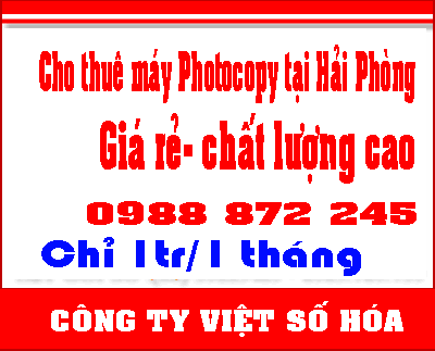 Cho thue may photo gia re