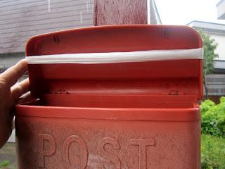 郵便受けの蓋