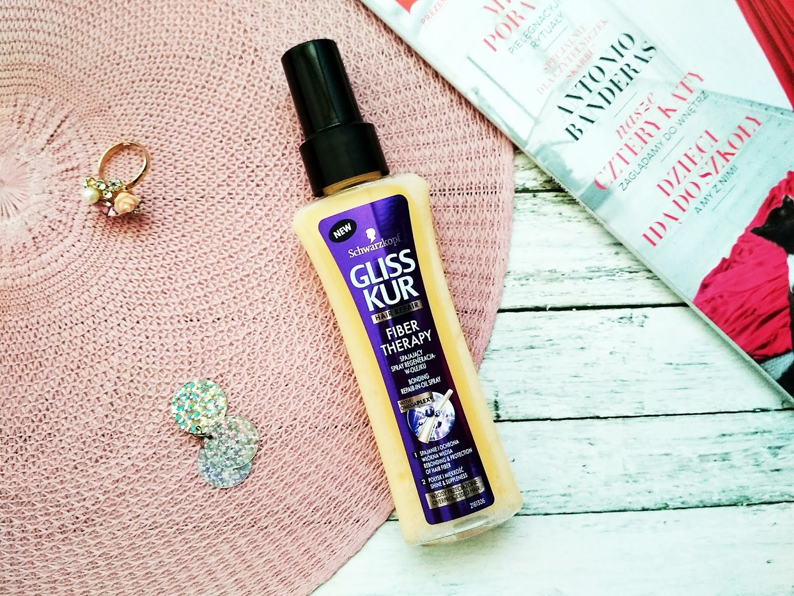 Gliss Kur | Fiber Therapy | Spajający spray do włosów