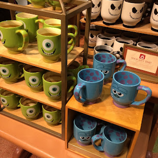 mike and sulley mugs