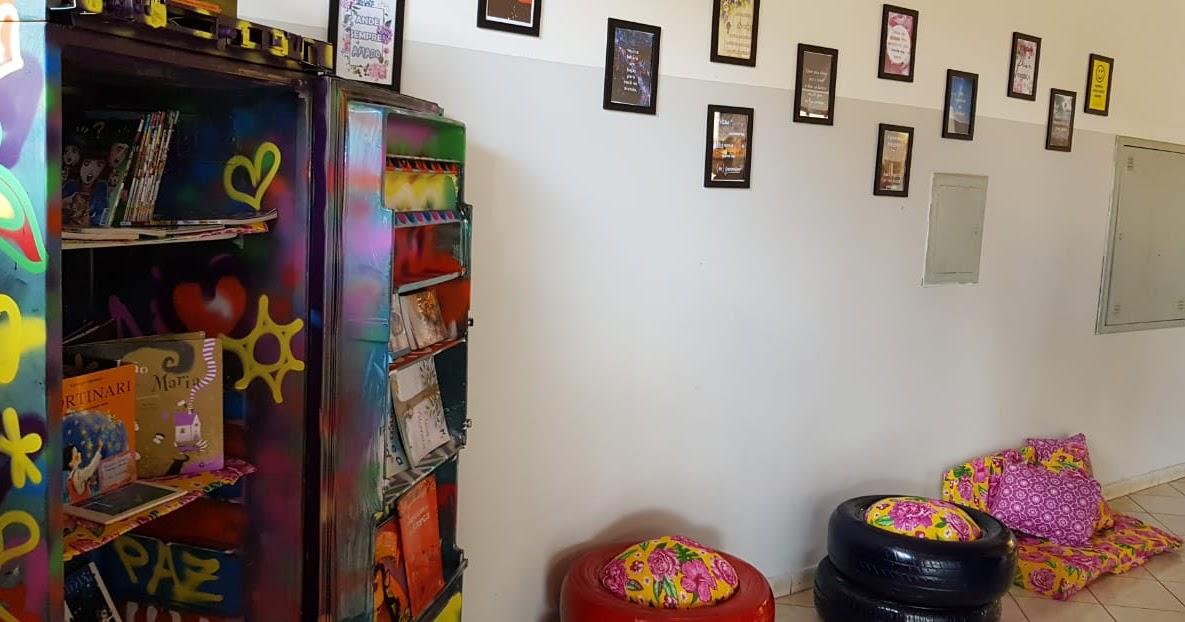 fe3906701 Alunos do Ensino Médio constroem espaço de leitura em instituição de  combate ao câncer ~ Blog do Patricio Nunes