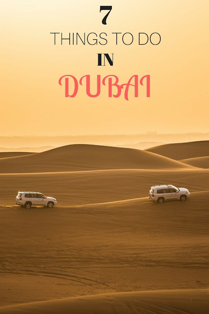 Tips and ideas for things to do in Dubai, including dune bashing, souks, shopping and more! Plus tips on where to stay.