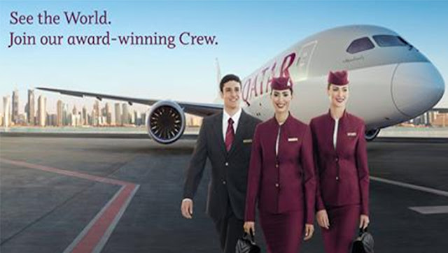 وظائف الخطوط الجوية القطرية للجنسين من الشباب عام 2021