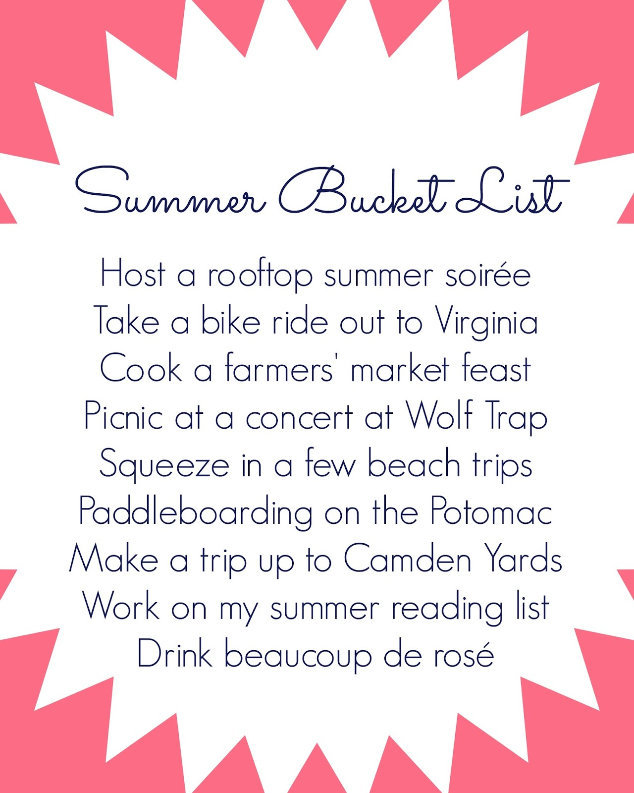 dc summer bucket list - summer things to do in DC