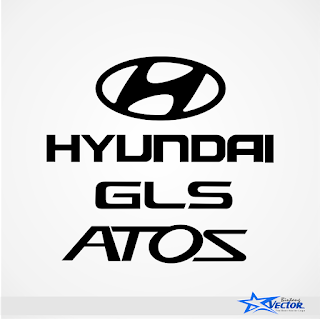 Hyundai ATOZ GLS Logo vector cdr Download