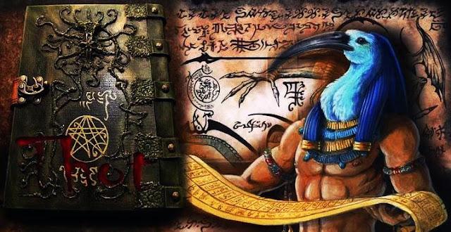 libro antiguo de thot
