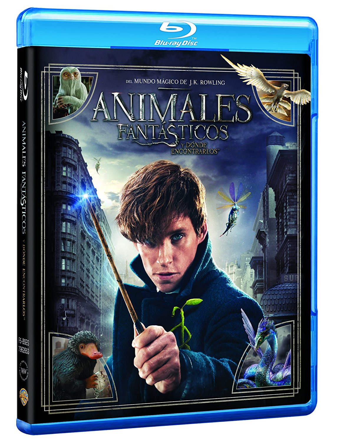 Animales fantasticos y donde encontrarlos -preventa-bluray